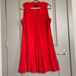 Jcrew red dress